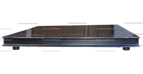 bascula plataforma de piso-  homologada inti [fabricante]