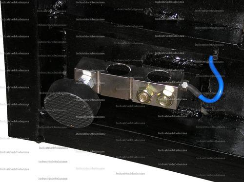 bascula plataforma de piso-  industrial 1500 kg [fabricante]