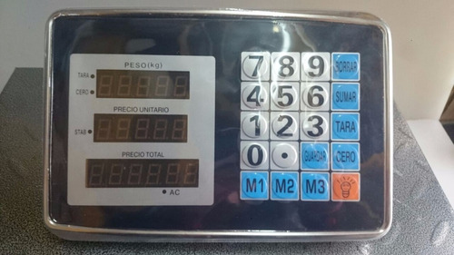 bascula plataforma digital inalambrica 200 kilos.