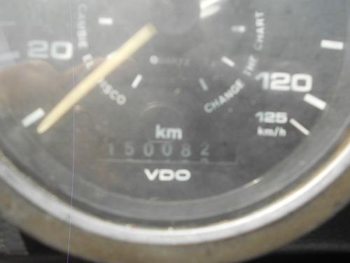 basculante 1986 mercedes 1317 único dono