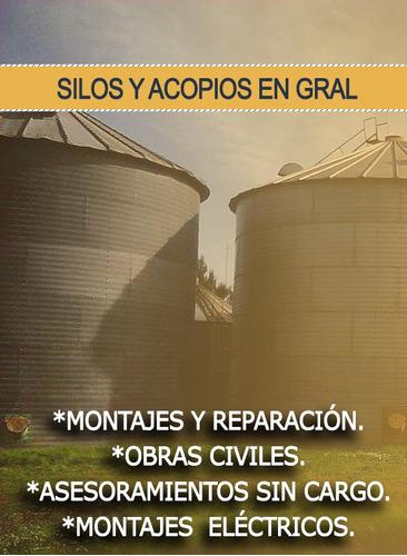 basculas, silos *montajes y reparación.