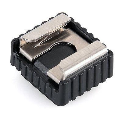 base adaptador tripie a zapata hot shoe 1/4 para flash