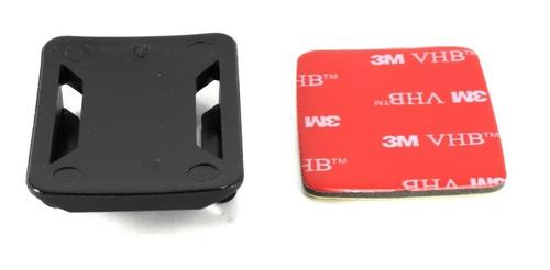 base adhesiva 3m gopro curva casco moto gopro -