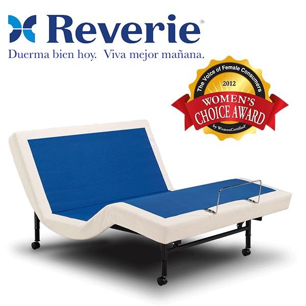 Base ajustable cama electrica reverie 3e king size for Cual es el mejor colchon king size