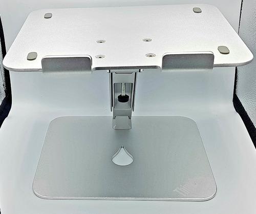 base ajustable para laptop aluminio inclinable macbook ipad