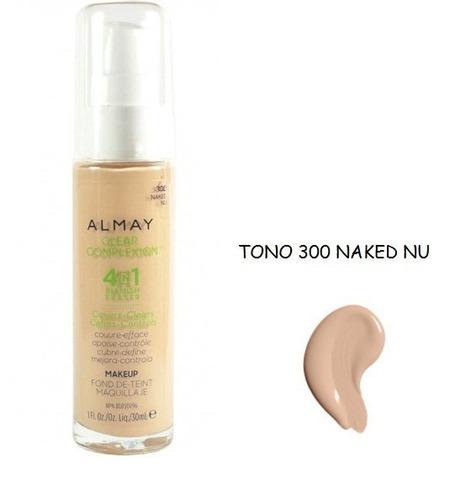 base almay clear complexion original piel grasa acne