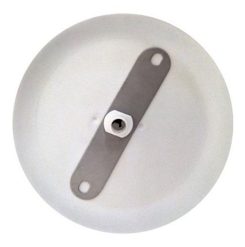 base aplique lampara colgante blanco redondo