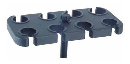 base apoio para 8 microfones para suporte am-08 vector