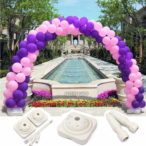 base arco para globos decoracion fiesta adorno portatil