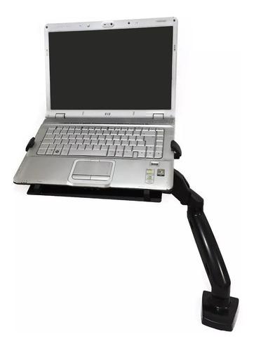 base brazo soporte para portatil de escritorio ajustable
