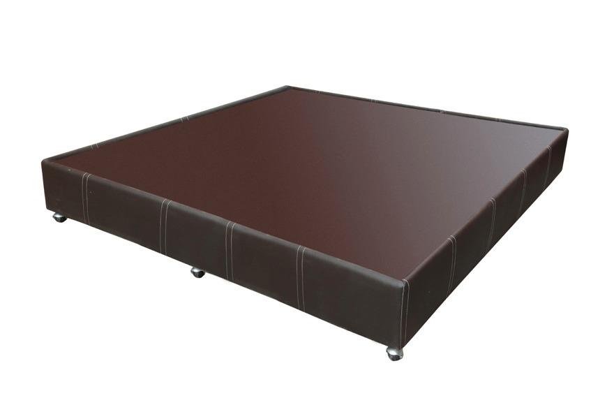 Base cama individual madera bases cama madera tapizada rd for Medidas de colchon matrimonial