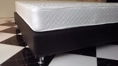 base-cama+colchón +almohadas calidad garantizada
