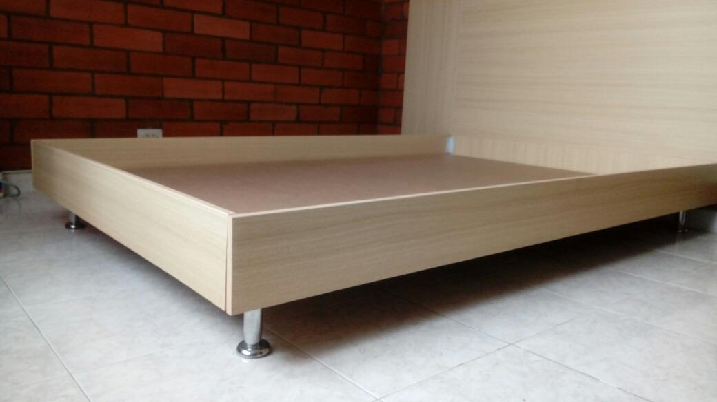 Base cama en madera en mercado libre - Bases de cama de madera ...