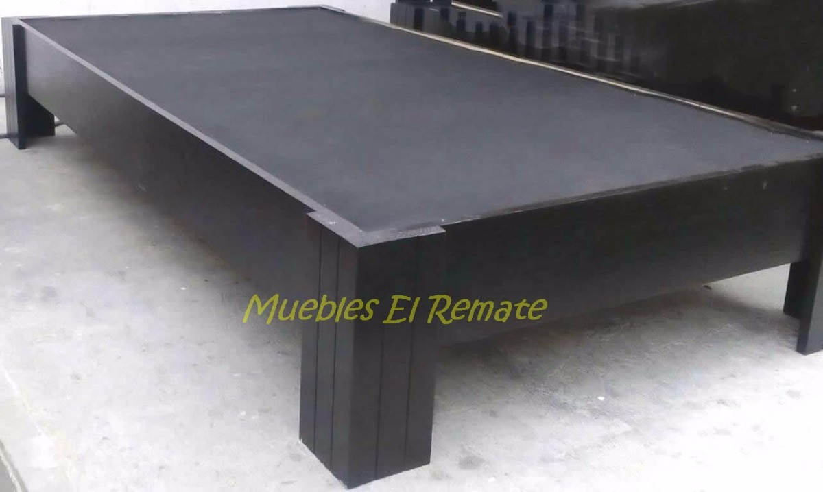 Base Cama Individual Cinthia Color Chocolate En Monterrey  # Muebles Cinthia