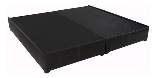 base cama king size de madera tapizada colchones recamaras