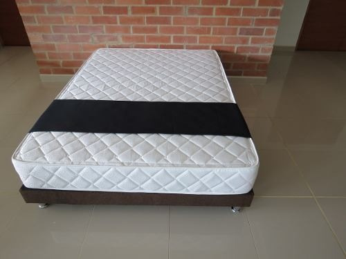 base cama mas colchon 1.00x1.90