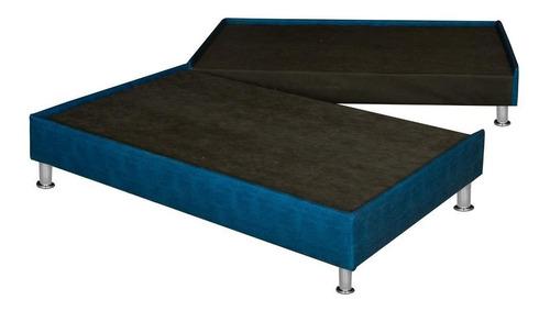 base cama matrimonial dividida box spring flex dual - oferta