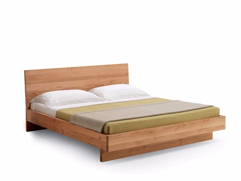 Base cama matrimonial madera solida cabecera madera viva for Base de lit double kijiji