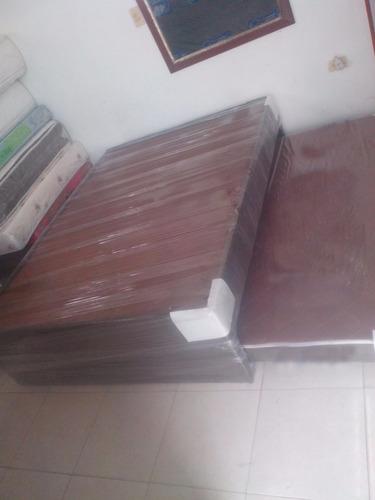 base cama nido + auxiliar deslizable medida doble 1.40