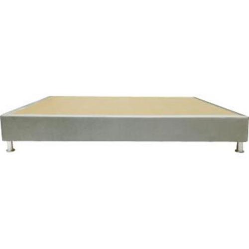 base cama premium en microfibra doble 140 x 190 x 28 cm - pl