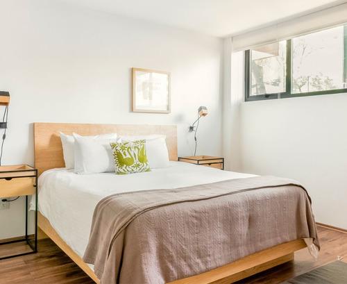 base cama queen size madera solida cabecera - madera viva