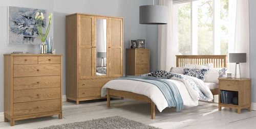 base cama queensize madera solida garantía - madera viva