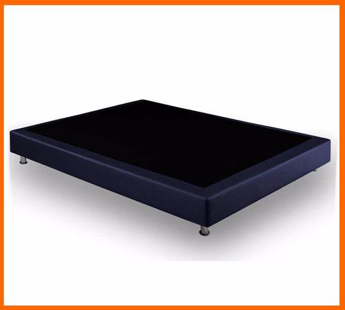 base cama sencilla box spring 100*190 flex dual sense nuev..