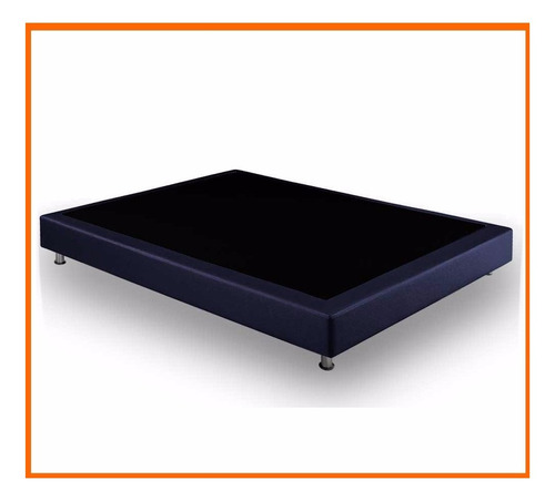 base cama somier moderna matrimonial 140x190 - nuevo prod...