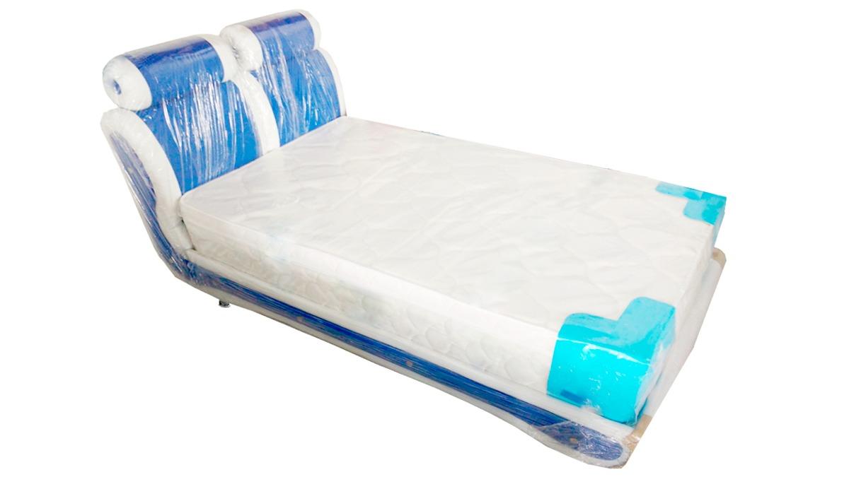 Base cama sommier cabecero london 120 190 envio gratis for Cama 120x190