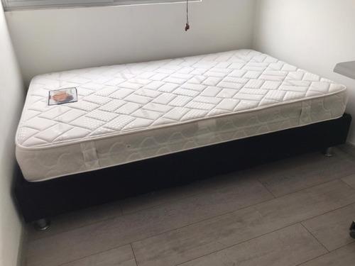 base cama y colchon ortopédico