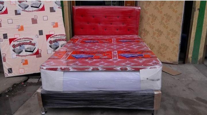 base camas, con y sin cabecero