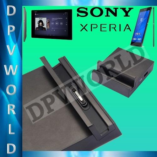 base carga magnetica sony xperia  z3  z3 compact z2  tablet