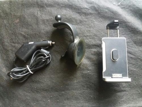 base cargador carro iphone 4s con cable!!