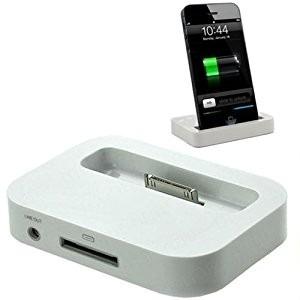 b2f9ae21ccf Base Cargador Dock iPhone 3g 3gs Salida Audio 3,5 Nuevos - $ 120,00 ...