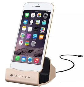 e35888bc56d Base Cargador Dock Para iPhone 5 6 6s Plus 7 7 8 Plus X 10