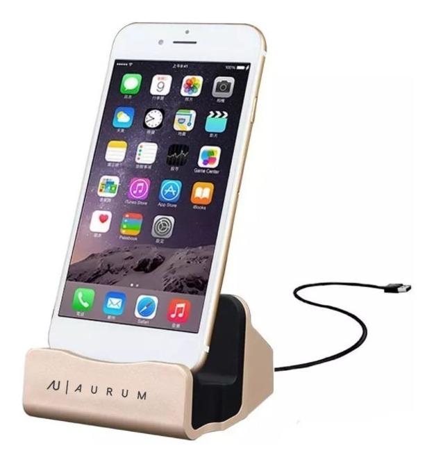 ae532e02e75 Base Cargador Dock Para iPhone 5 6 6s Plus 7 7 8 Plus X 10 ...