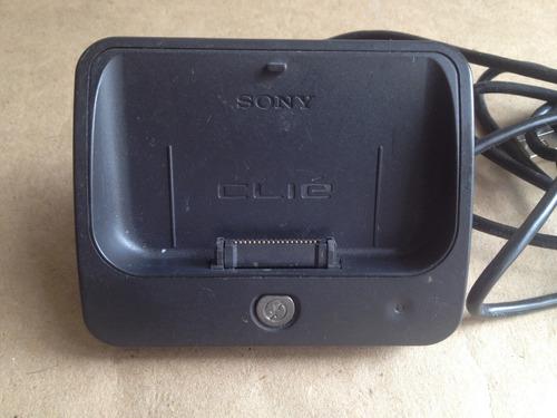 base + cargador sony clie peg-t / sl / sj series original