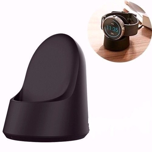 bc007e90ee8 Base Carregador Smartwatch Moto 360 Motorola Sem Fio Relógio - R  89 ...