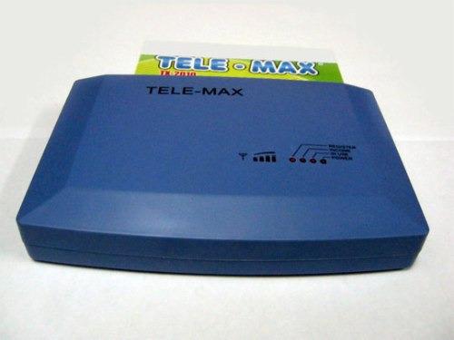 base celular gsm tele-max, exclusivo para cabinas y oficinas