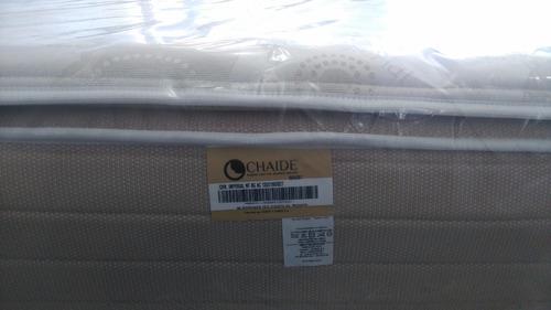 base + colchon chaide nonflip+ 2 almohada+ entrega domicilio