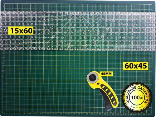 base corte a2 60x45  dupla face régua laser 15x60 e cortador