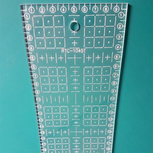 base corte a2 60x45 réguas laser 10x30 e 10x45 patchwork