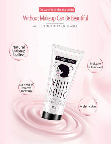 base creme white holic matte mary kay pronta entrega