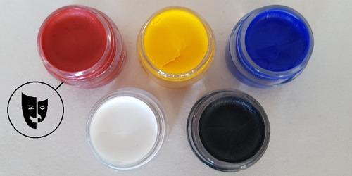 base cremosa maquillaje titi mini pote 5gr rojo