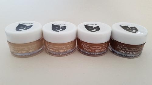 base cremosa maquillaje titi pote 15gr - piel 1