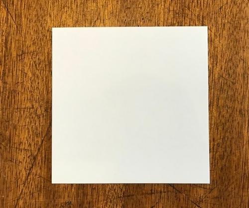 base cuadrada plastificado ppm blanco mate 8x8 cm (x 100 u.) - bauletto