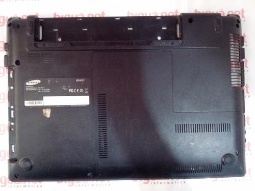 base da carcaça notebook samsung rv-411
