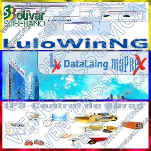 base-datos maprex, lulong, ip3, lulo del mes bs. s actual