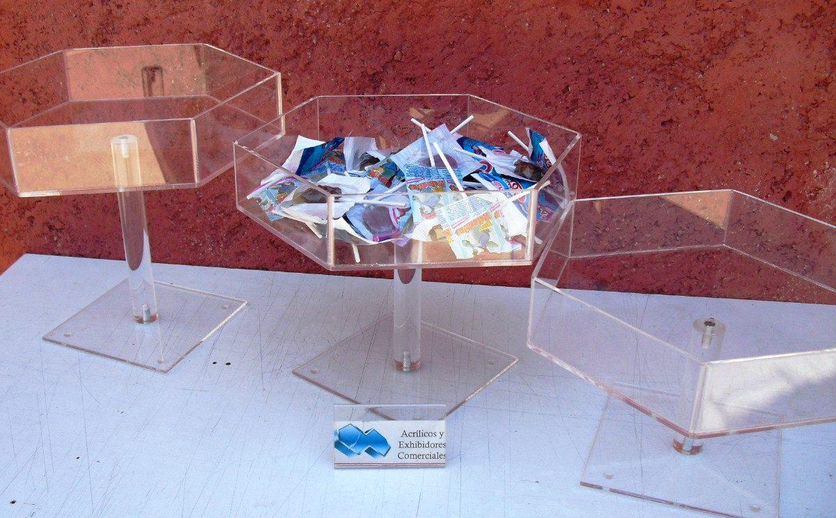 Base de acrilico para mesa de dulces exagonal for Bases para mesas chile