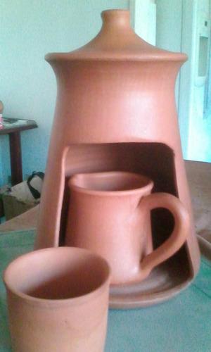 base de barro para hacer café como nueva
